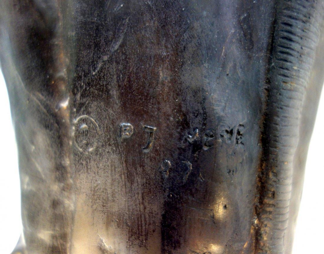 Bronze elephant vase signed P.J. Mene (after Pierre - 2