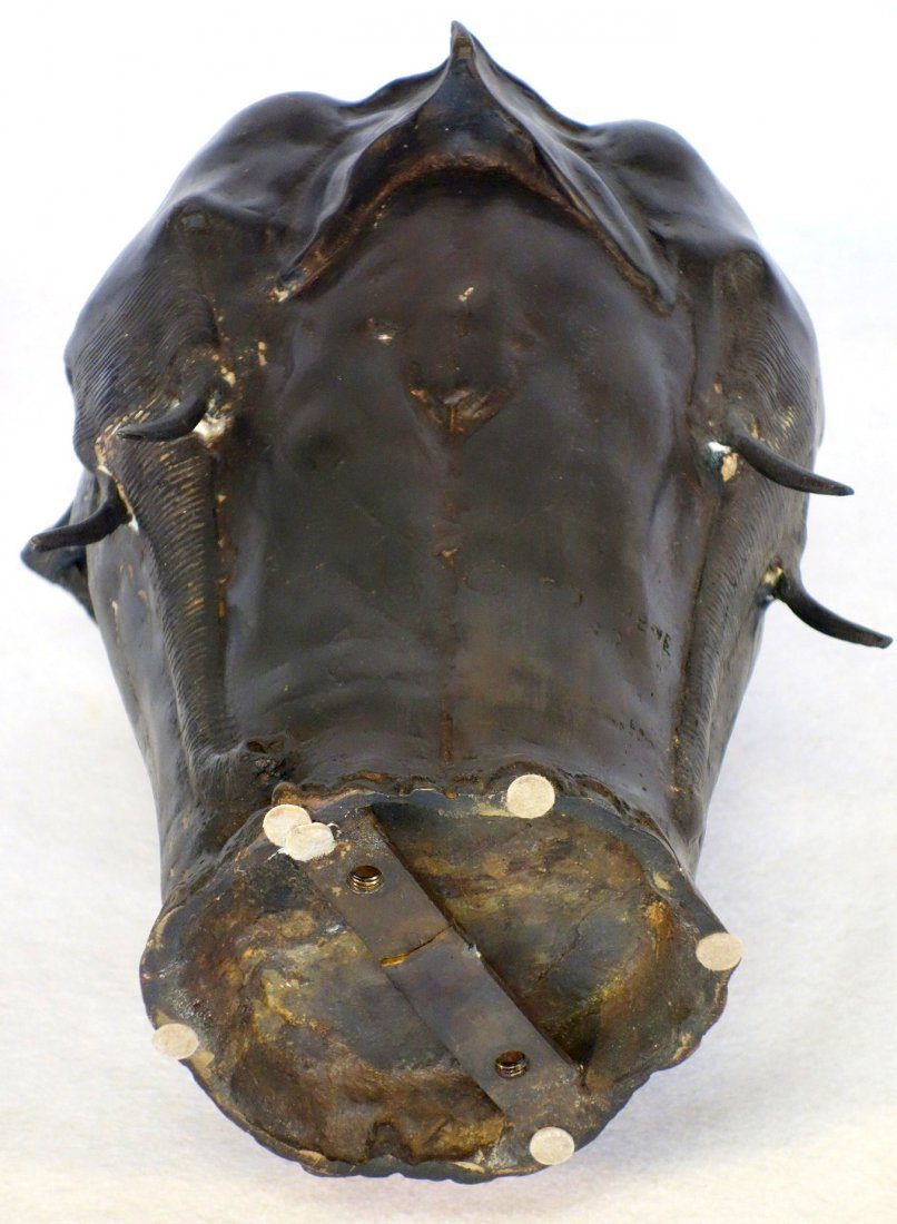 Bronze elephant vase signed P.J. Mene (after Pierre - 4