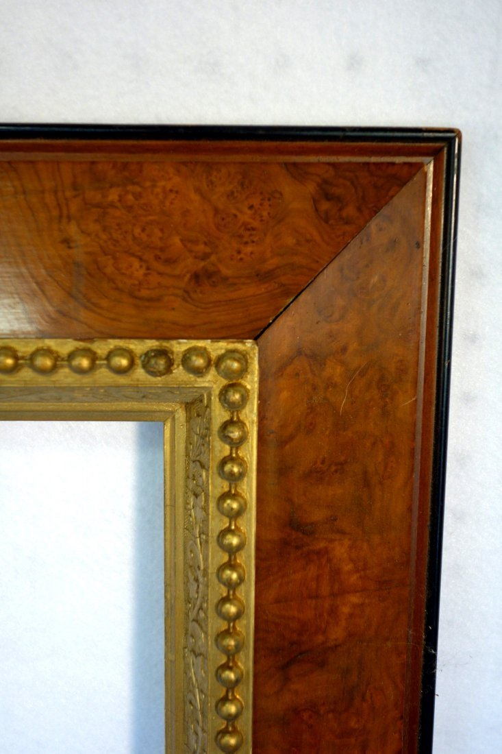 Pair of 19th century matching portrait frames in - 2