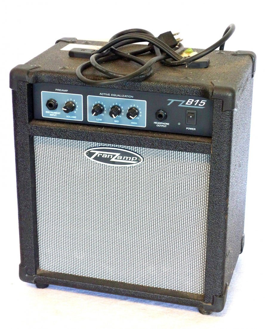 Two electric guitars and 2 amplifiers. Includes: Guitar - 2