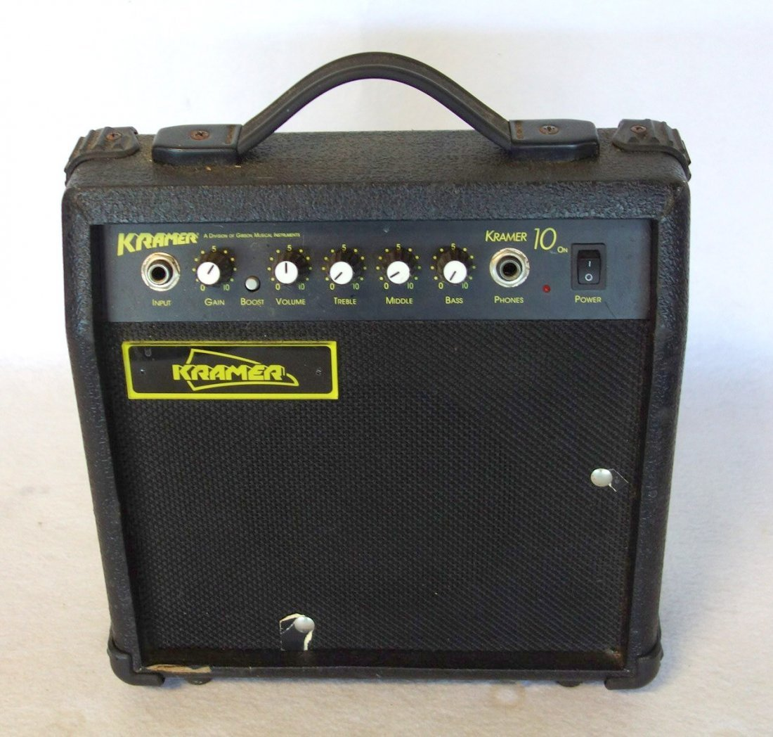Two electric guitars and 2 amplifiers. Includes: Guitar - 4