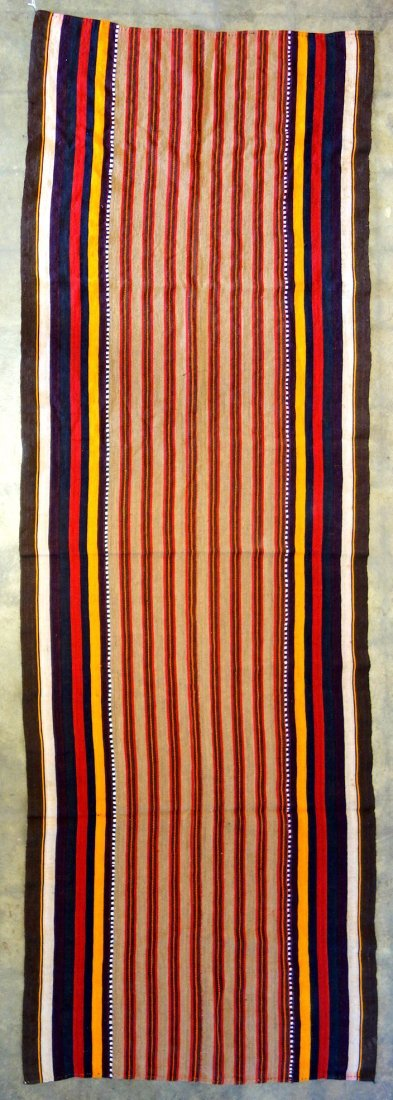 Grouping of 7 various woven textiles, 19th and 20th - 7
