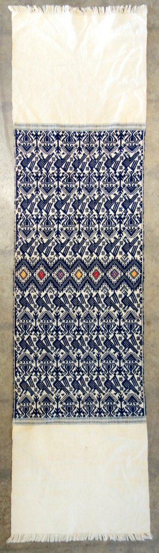 Grouping of 7 various woven textiles, 19th and 20th - 8