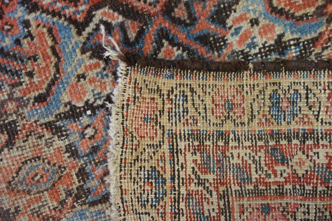 "Oriental scatter rug/runner - 11 ' 4"" x 4' 9"" - late - 3"