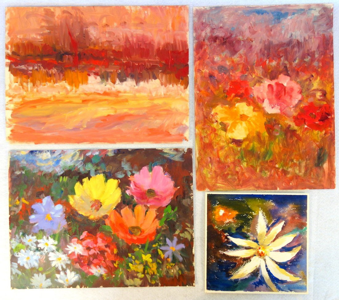 Grouping of 27 mostly impressionist landscapes, various - 2