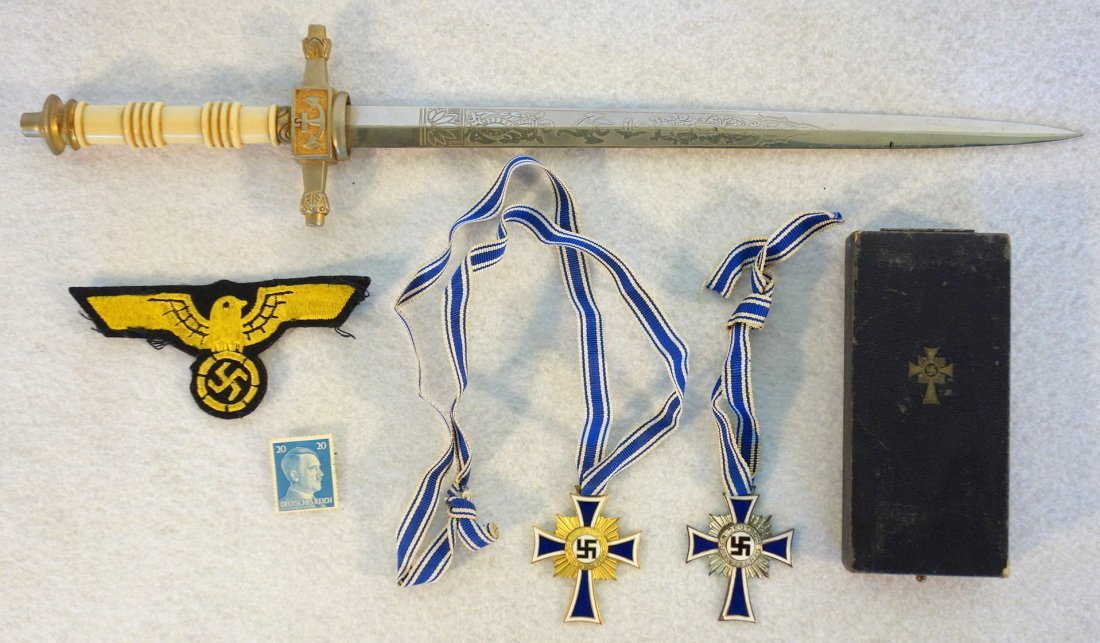 Grouping of German memorabilia including Naval military