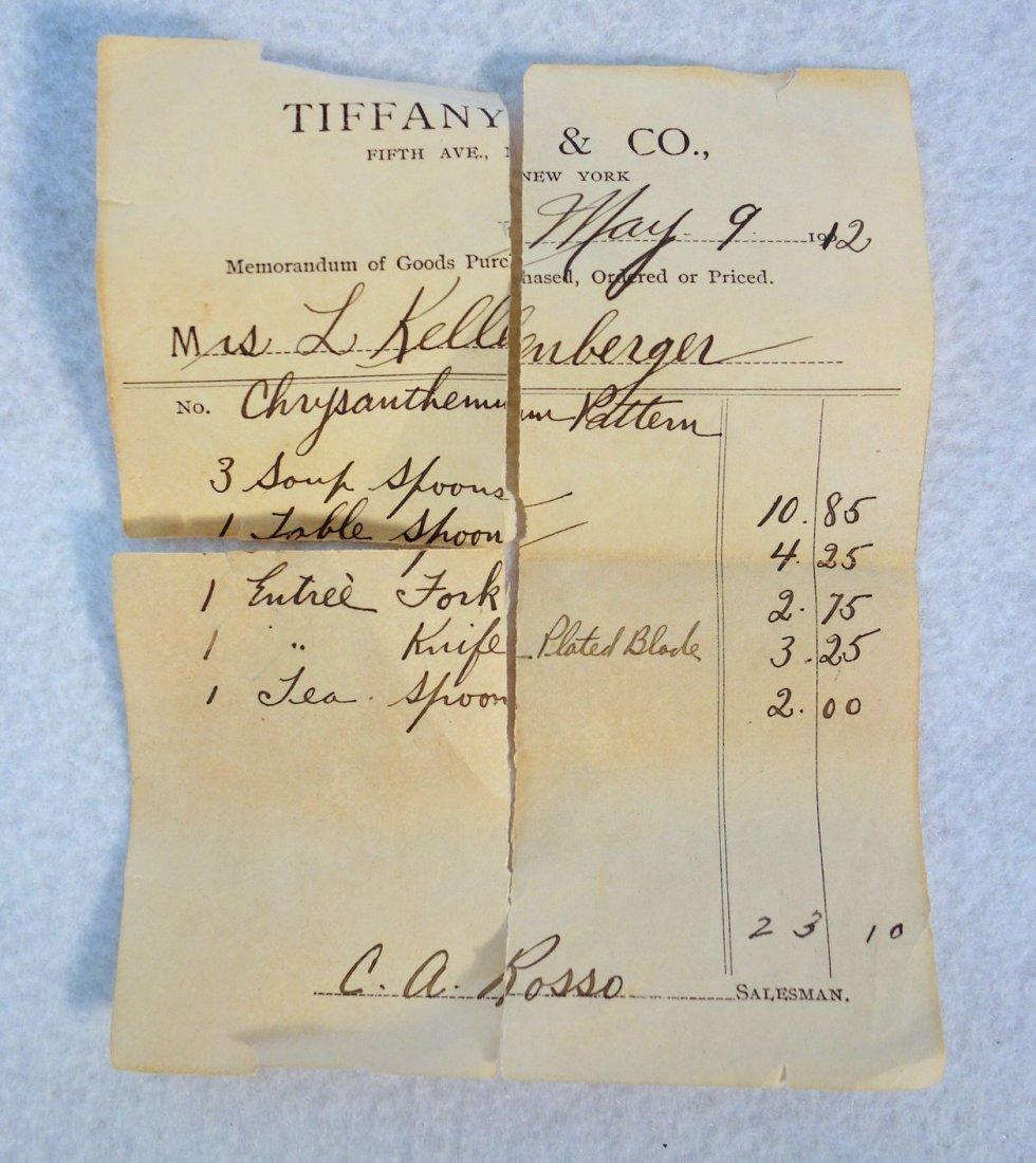 Tiffany & Co. Sterling silver Chrysanthemum pattern - 5