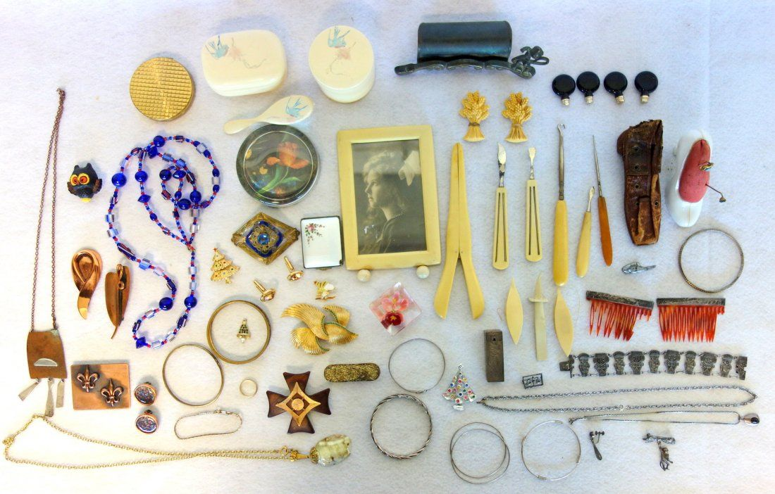 Large grouping of mostly lady's decorative articles