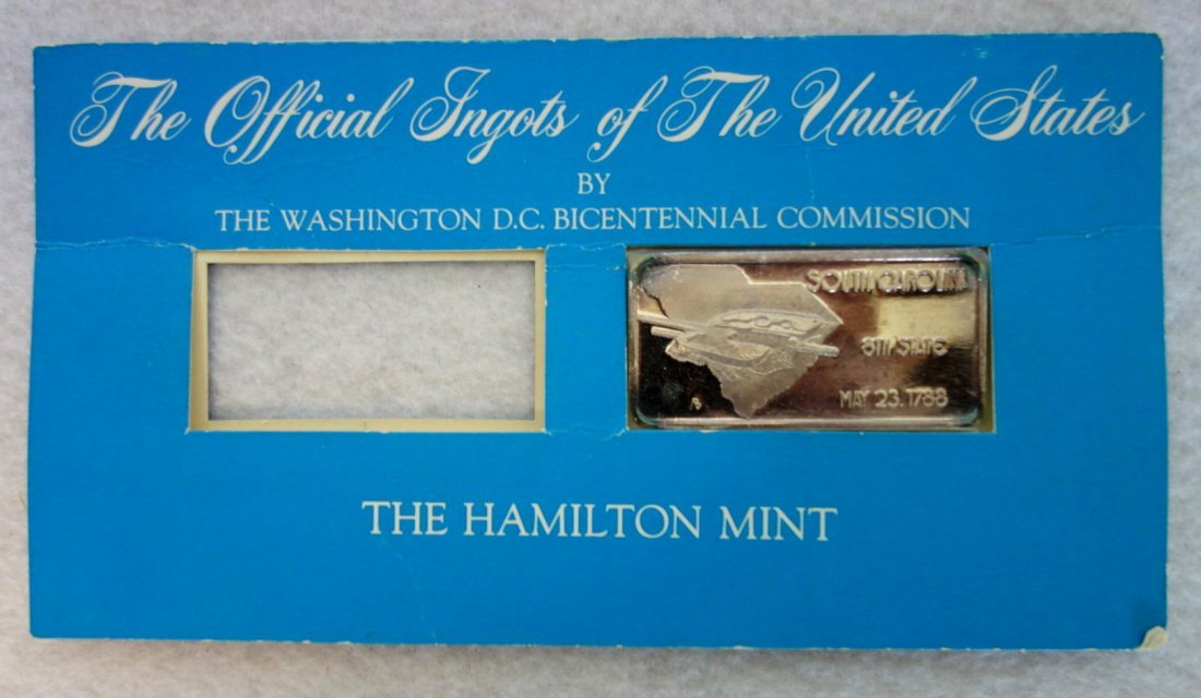 Grouping of 25 double packets of the Official Ingots of - 2