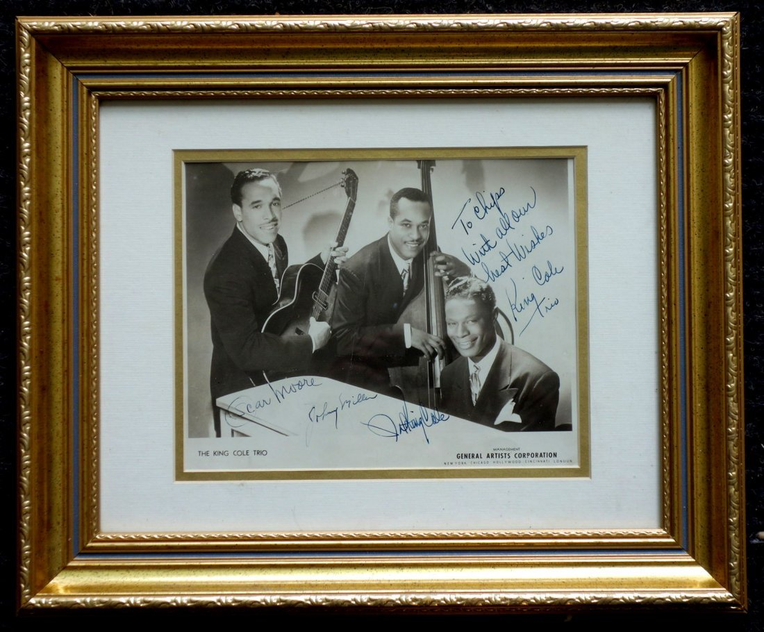 The King Cole Trio 1940's General Artists - 2