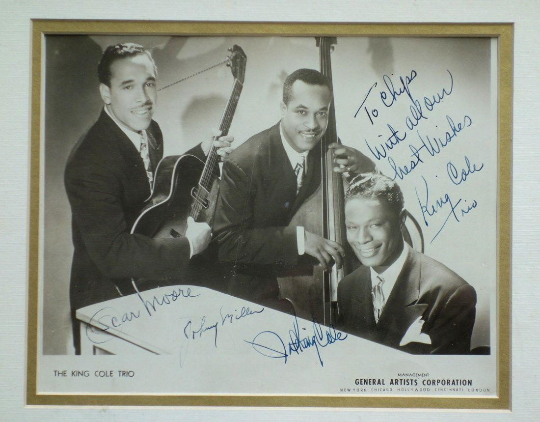 The King Cole Trio 1940's General Artists - 3
