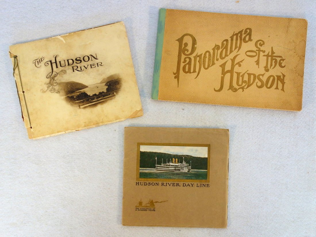 Three Hudson River booklets including Hudson RIver Day