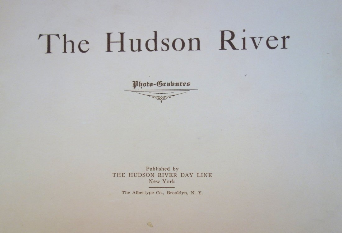 Three Hudson River booklets including Hudson RIver Day - 5