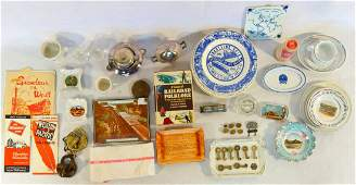 Large grouping of vintage railroad & airline