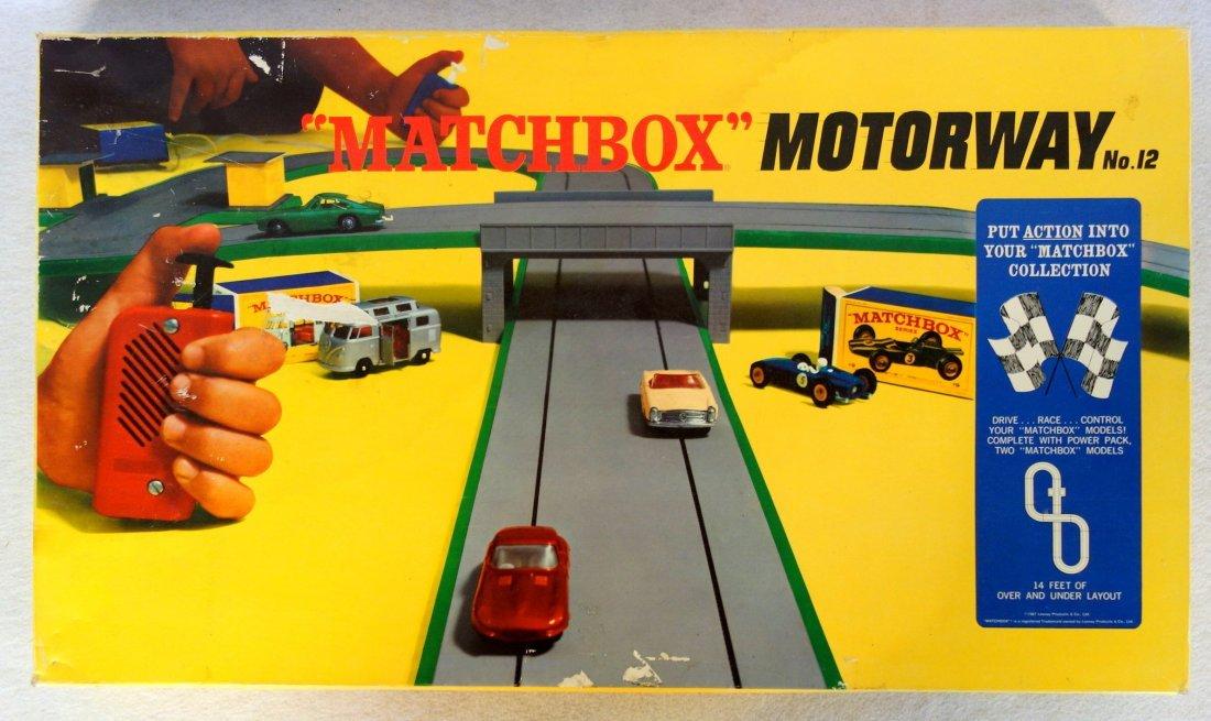 Matchbox Motorway No. 12. - complete in original box -