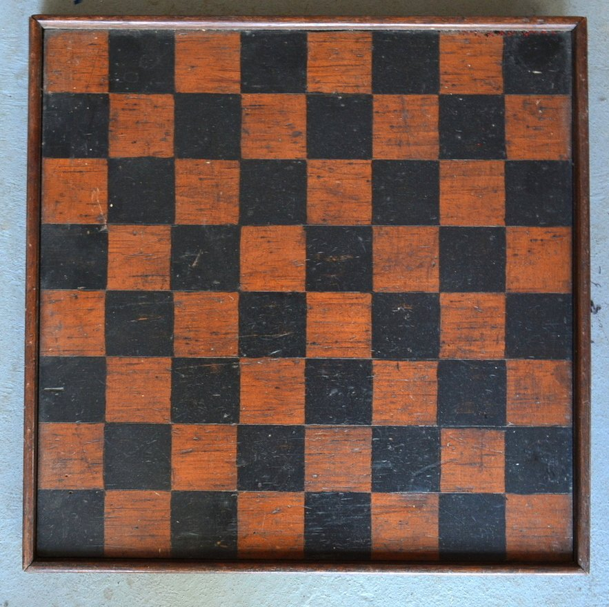 Three 3 American game boards in original paint: 1) With - 3