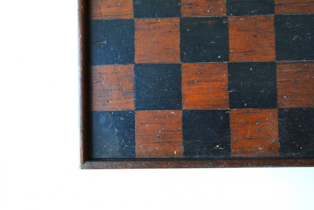 Three 3 American game boards in original paint: 1) With - 4