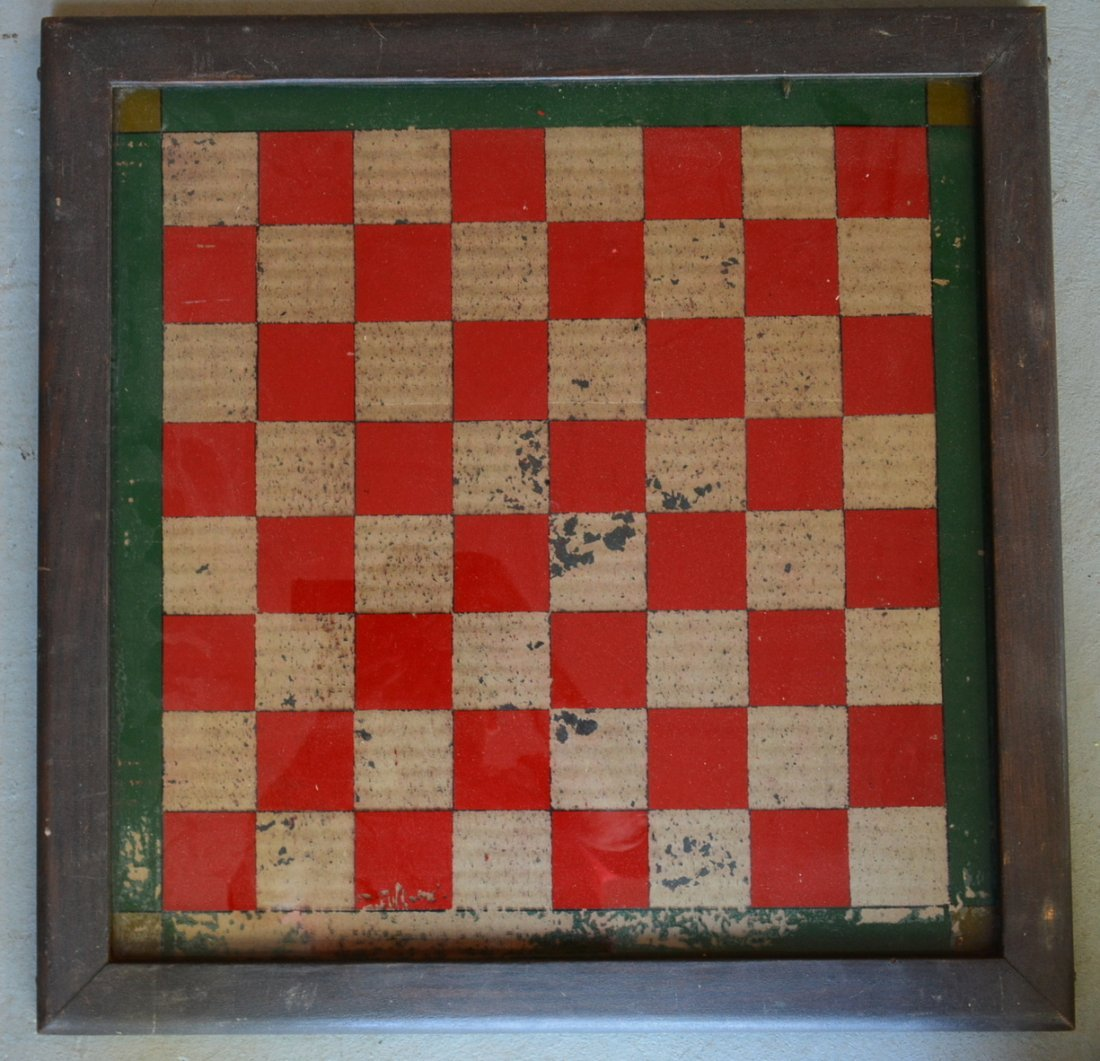 Three 3 American game boards in original paint: 1) With - 5
