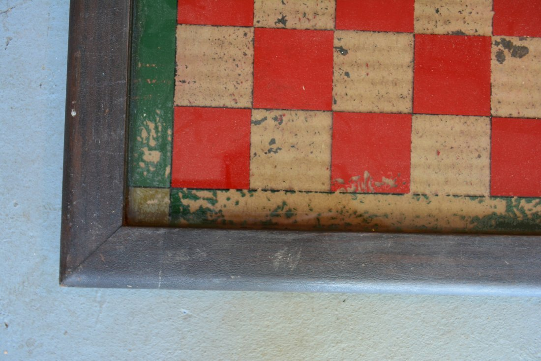 Three 3 American game boards in original paint: 1) With - 6