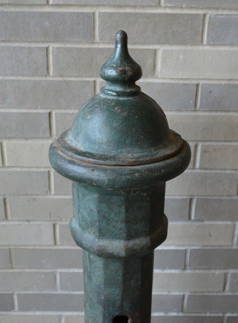 Unusual cast iron farm animal watering fountain on - 2