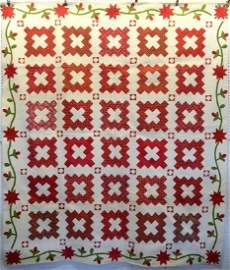 Outstanding Chimney Sweep pattern quilt with an