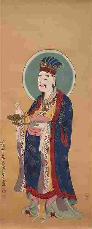 Zhang Daqian, character figure