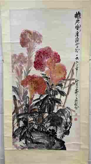 Wu Fuzhi, Flower Picture