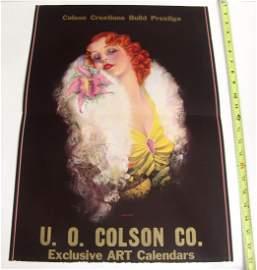 BIG Antique Billy DeVorss Pin-Up Print