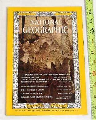 1964 National Geographic Magazine