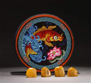 A GROUP OF CHINESE SOAPSTONE SEALS