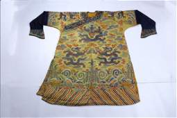 A Piece of Chinese Embroideried Robe