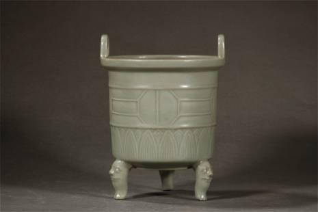 A Chinese Porcelain Incense Burner