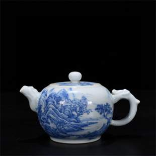 A Chinese Porcelain Teapot