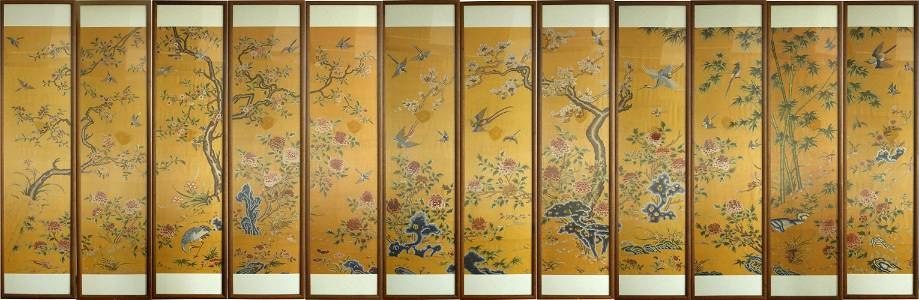A Set of Chinese Embroideries