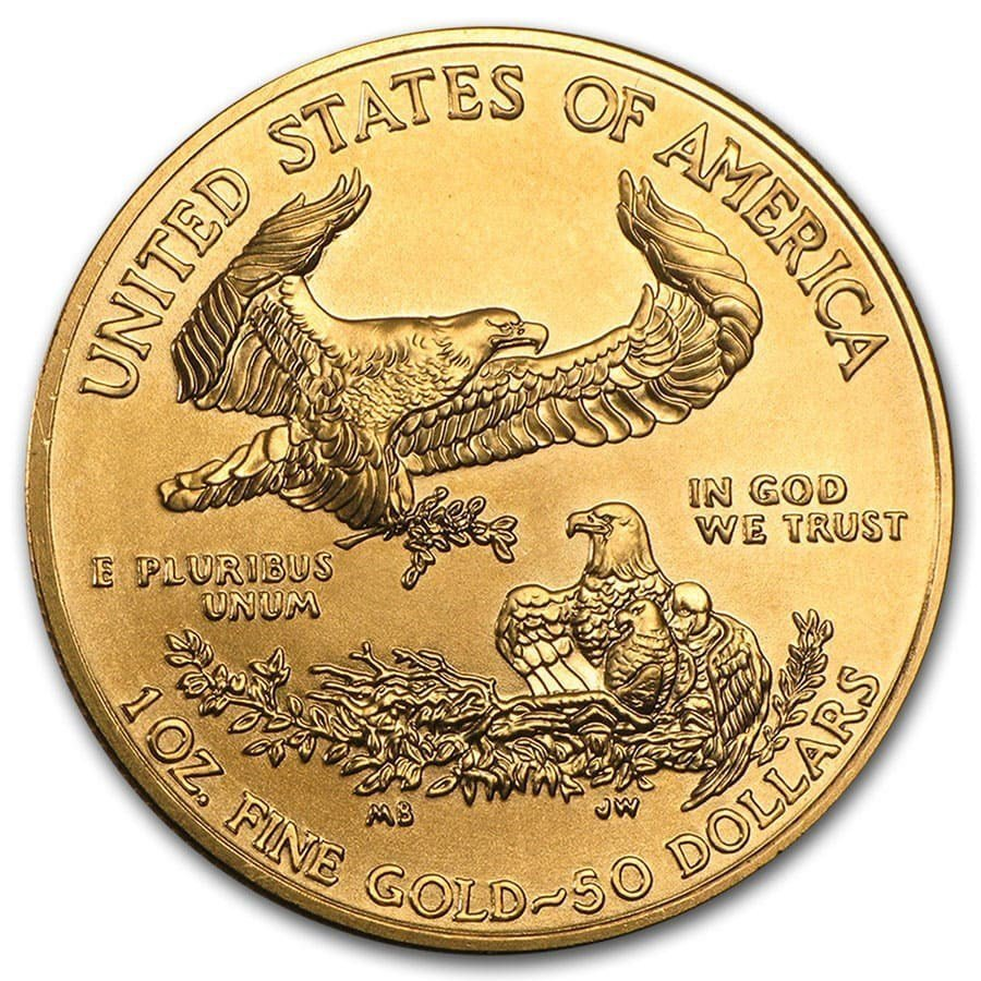 1 oz Gold American Eagle (Random Year)