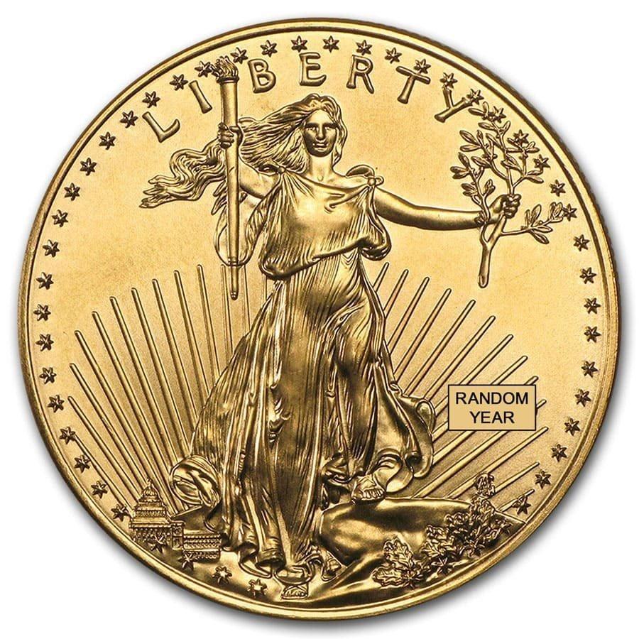 1 oz Gold American Eagle (Random Year)
