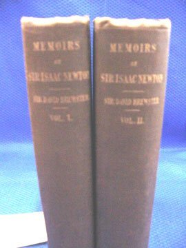 1: Brewster, Sir. David, Memoirs of the Life,
