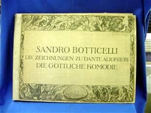 Botticelli, Sandro, Die Zeichnungen Zu Dan
