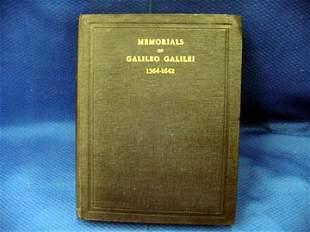 Fahie, J.J., Memorials of Galileo Galilei