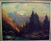 314: Robert Wood, Oil on Canvas