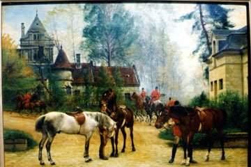316: Louis Guesnet, Oil on Canvas