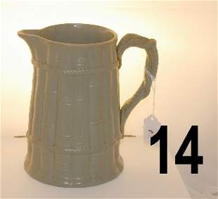 Ridgway pitcher signed Published by S. Ridgway & Co