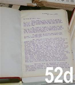 52D: Letters by Guy W. Rutter June 10th 1915 to Dec. 31