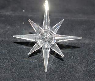 Swarovski Christmas Ornament 1995