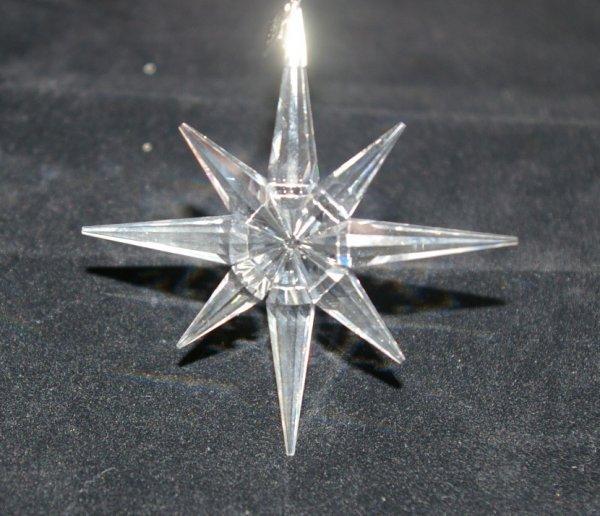 1: Swarovski Christmas Ornament 1995