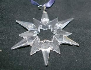 Swarovski Christmas Ornament 1997