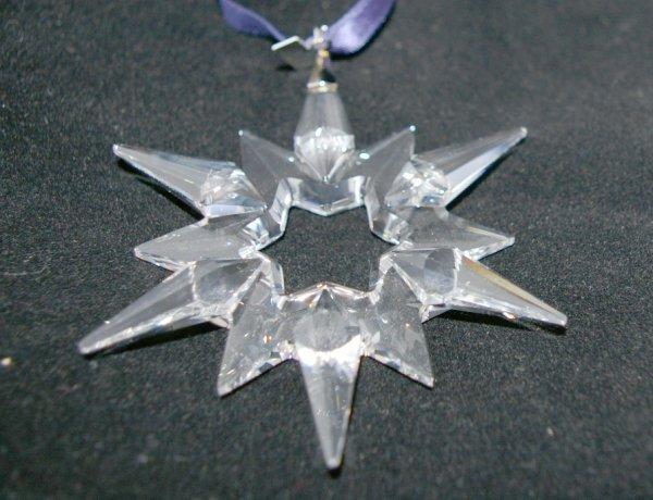 3: Swarovski Christmas Ornament 1997