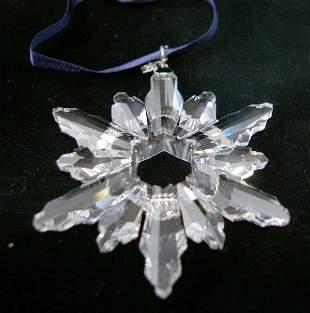 Swarovski Christmas Ornament 1998