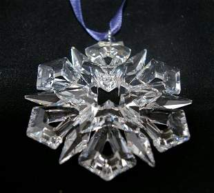 Swarovski Christmas Ornament 1999