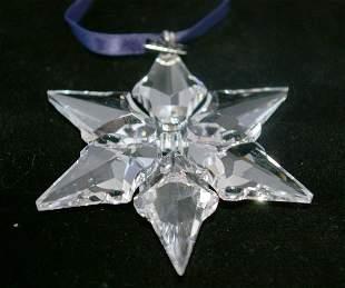 Swarovski Christmas Ornament 2000